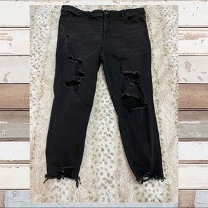 American Eagle Next Level Stretch Cropped Jeans